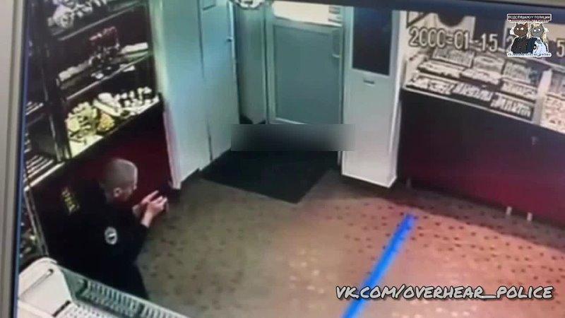 Ограбление Ювелирного Магазина Ижевск 18.04 2021