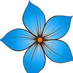 Нарисовать цветок для детей