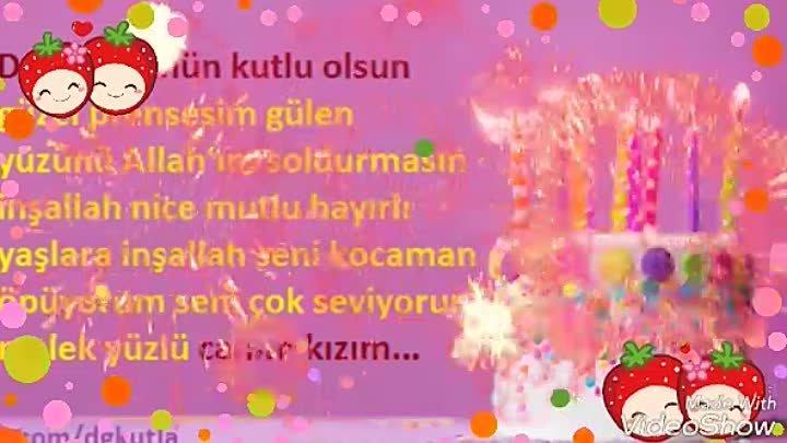 Canim Qizim Ad Gunun Mubarek