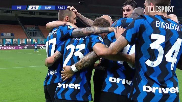 Интер  2-0  Наполи видео