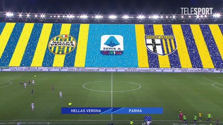 Верона  3-2  Парма видео