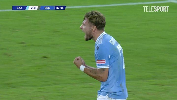 Лацио  2-0  Брешиа видео