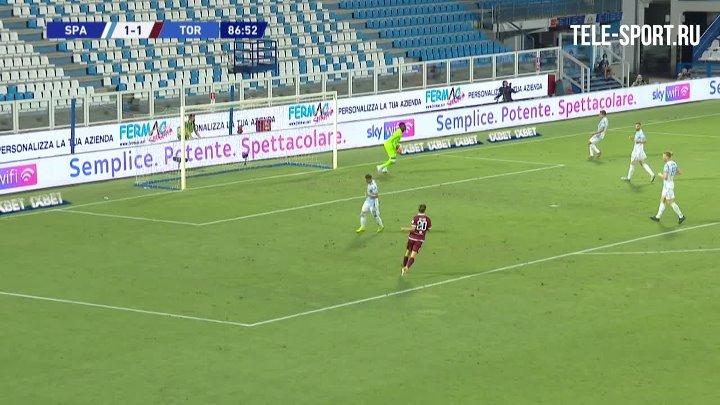 СПАЛ  1-1  Торино видео