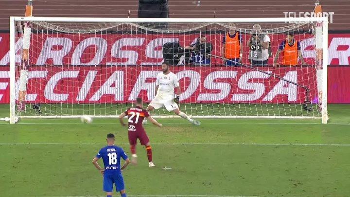 Рома  2-1  Фиорентина видео
