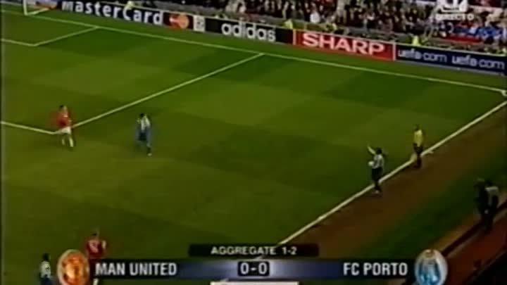 Порту манчестер юнайтед 2004 видео