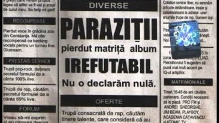 Parazitii rock