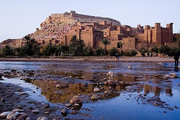 Древний город Айт-Бен-Хадду, Марокко