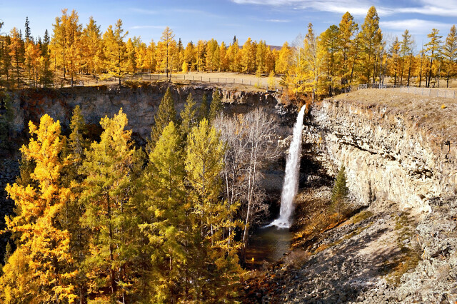 Водопад Малый Жом-Болок, Россия