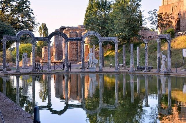 Вилла Адриана, Тиволи, Италия