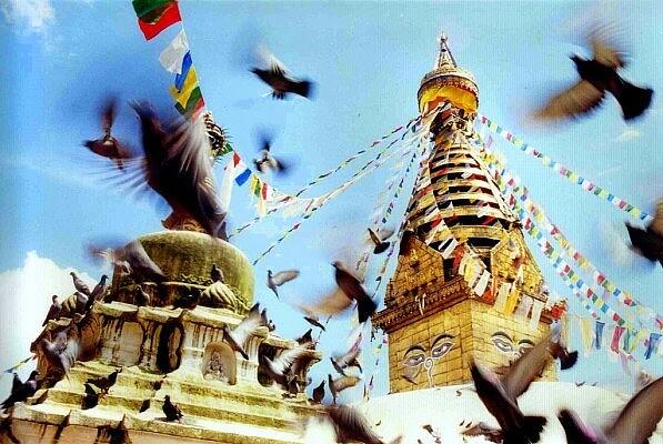 Сваямбунатх (Обезьяний храм), Непал