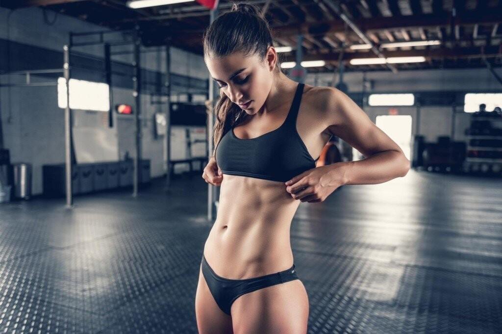 Female Fitness Motivation Explosive Workout Girls Sports Kitty Kats 1