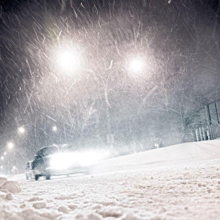 Метель в Курской области продолжится ночью