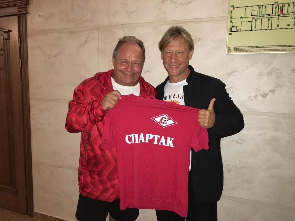Алексей Маклаков и Дмитрий Харатьян. Спартак