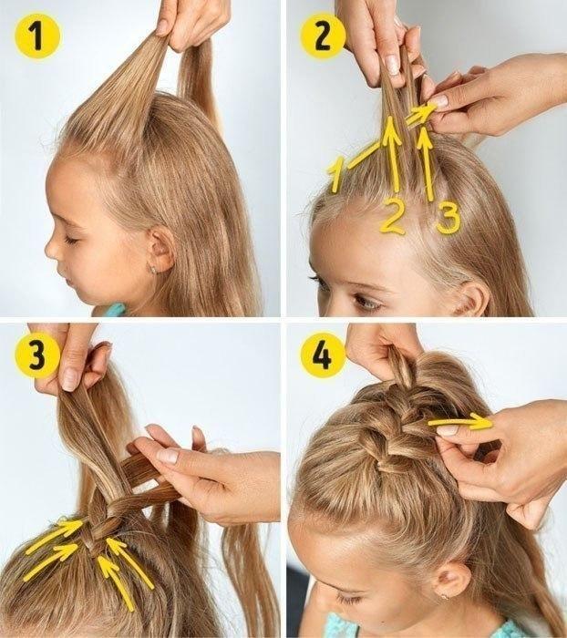 Идеи Причесок Для Девочек - Hair Beauty