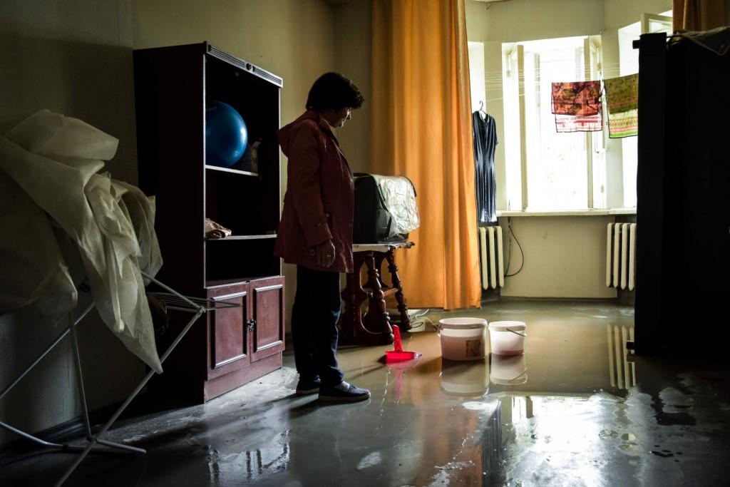 затопило квартиру дождем