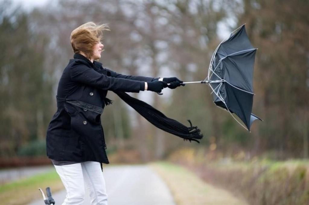 Оперативное предупреждение из-за сильного ветра объявлено ...