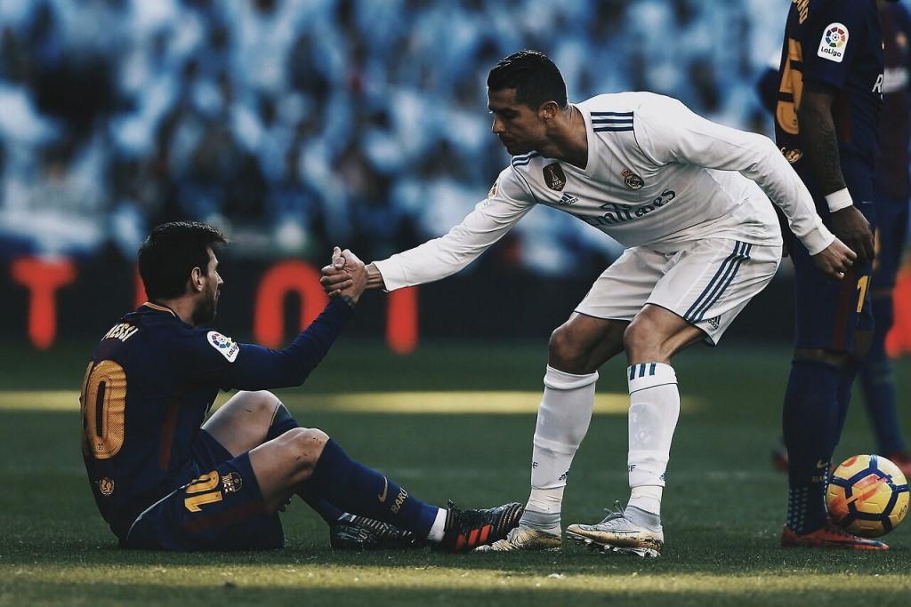 Криштиану Роналду и Лионель Месси, Реал Мадрид - Барселона