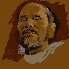 70-летний юбилей отпраздновал курский художник Владимир Окаев