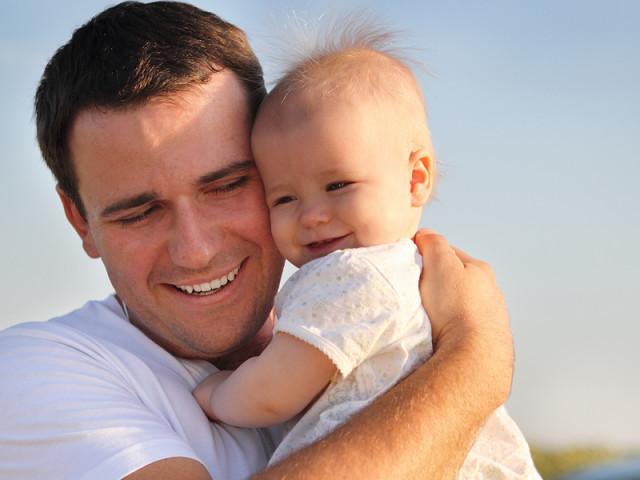 мужчина с ребенком картинки