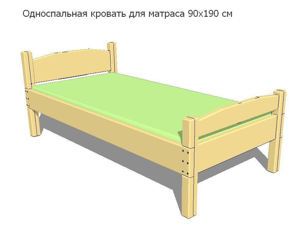 Своими руками односпальная кровать