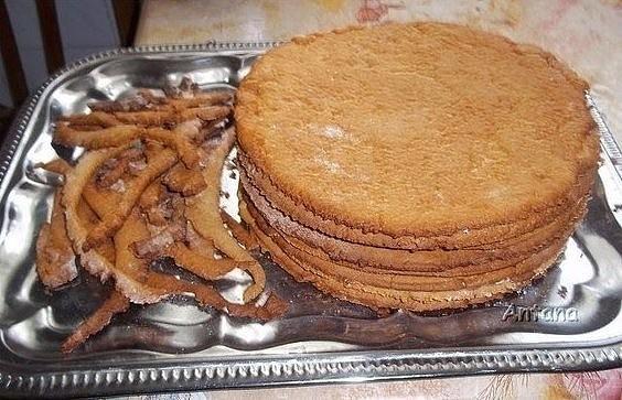 Рецепты медового торта с заварным кремом в домашних условиях с фото