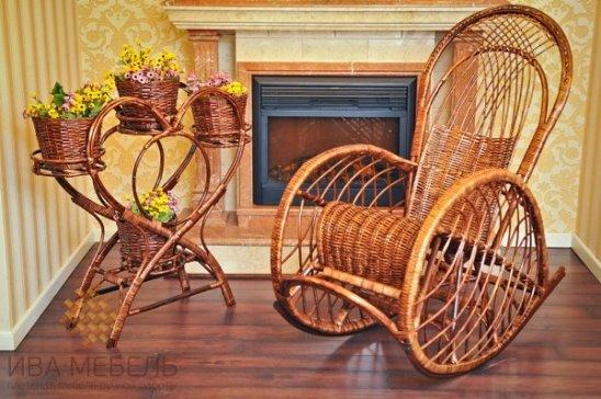 Мебель из орешника лесного