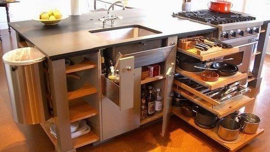 кухня самая удобная фото