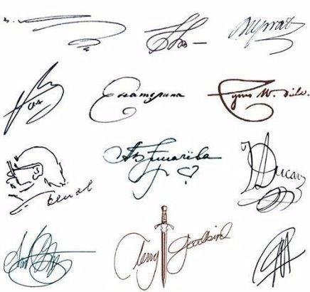 Как сделать свою подпись под фото
