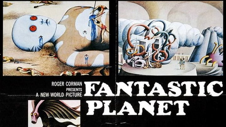 Fantastic Planet 1973 Full Movie French With English Subs Dir Rene Laloux Aka La Planete Sauvage