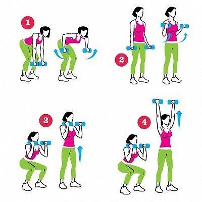 упражнения для рук с эспандером фото