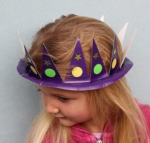 Детские шляпки из бумаги для конкурса