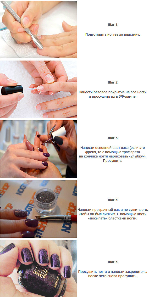 Интересные Рисунки На Ногтях Фото