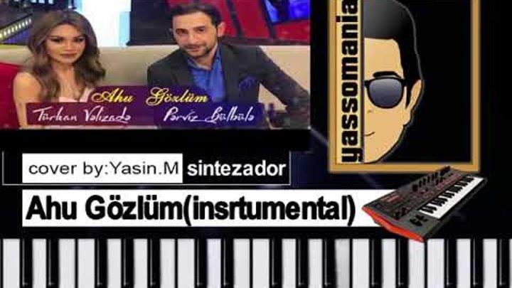 Perviz Bulbule Turkan Velizade Ahu Gozlum Notlari Piano Tutorial Instrumental Karaoke