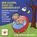 Spieluhr baby musicbox - Lasst uns froh und munter sein