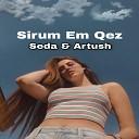 dj ARTUSH ft SEDA ABRAHAMYAN - sirum em kez