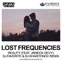 Lost Frequencies feat. Janieck - Reality (DJ Favorite and DJ Kh