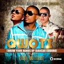 Qwote feat Pitbull Lucenzo - Throw Your Hands Up Dancar Kuduro Sagi Abitbul Remix Edit