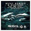 Nicky Romero Vicetone feat - Let Me Feel Micha Moor Remix