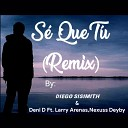 Diego Sisimith Deni D feat Larry Arenas Nexuss Deyby - S Que T Remix