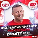 Didier Sinclair Feat Lidy V - Feel The Wave Diplate Radio Mix
