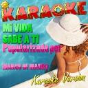 Mi Vida Sabe a Ti (Popularizado Por Marco Di Mauro) [Karaoke Version] - Single