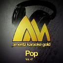 Ameritz Audio Karaoke - Boys In the Style of Britney Spears Karaoke Version