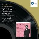 Dinu Lipatti Philharmonia Orchestra Herbert von Karajan - Schumann Piano Concerto in A Minor Op 54 I Allegro affettuoso