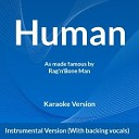 Rag'n'Bone Man - Human Instrumental Version (With backing vocals)