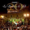 Gang - La corte dei miracoli Live