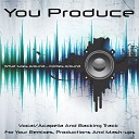 You Produce - What Goes Around Comes Around Backing Track In the Style of Justin Timberlake