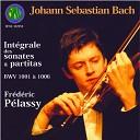 Fr d ric P lassy - Partita No 1 in B Minor BWV 1002 VIII Double