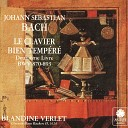 Blandine Verlet - The Well Tempered Clavier Book 2 No 17 in A Flat Major Prelude and Fugue BWV 886 BWV 886 No 1 Prelude