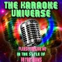 The Karaoke Universe - Please Forgive Me Karaoke Version in the Style of Bryan Adams