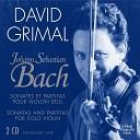David Grimal - Partita No 1 in B minor BWV 1002 I Allemanda Double